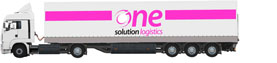 one solution logistics - lkw 13,6m Planensattel