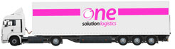 one solution logistics - lkw 13,6m Mega-Trailer